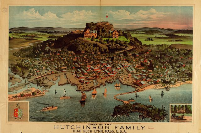 Home of the Hutchinson Family, High Rock, Lynn, Mass., U.S.A.