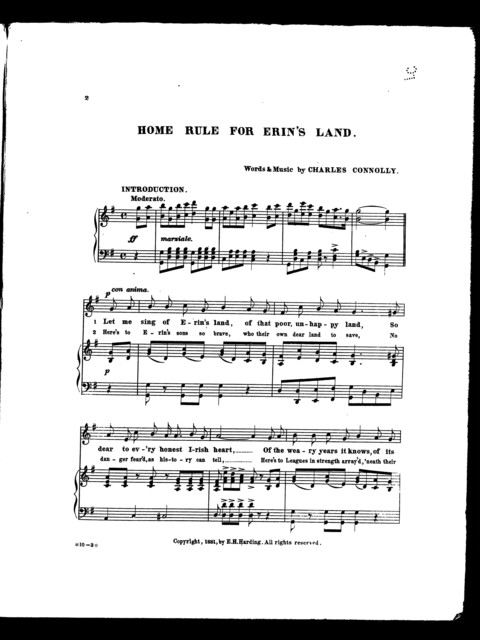 Home rule for Erin's land