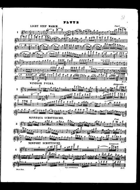 J. W. Pepper's violin and piano dance albums, no. 3