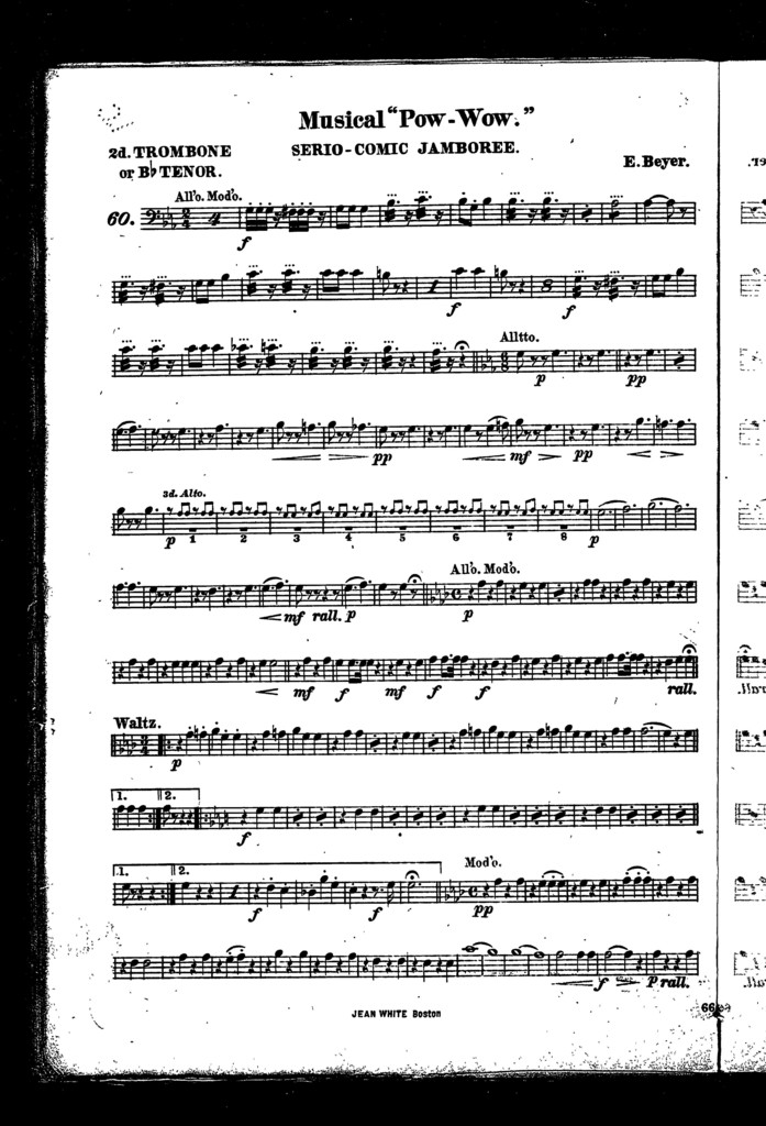 "Musical ""pow-wow""; Serio-comic jamboree"
