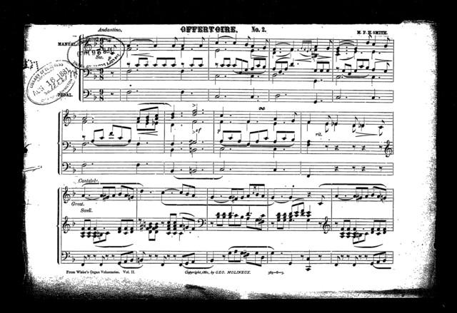 Offertoire, no. 2