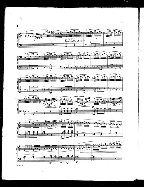 Perpetual motion; Finale from the grand sonata in C, op. 24