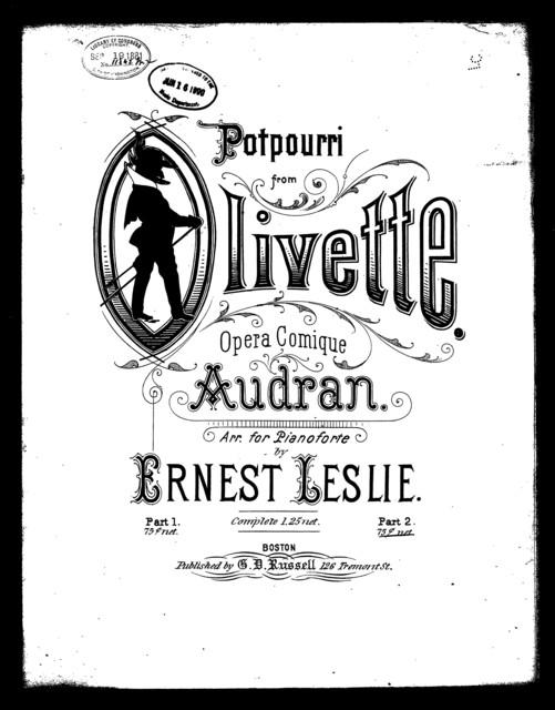 Potpourri [from] Olivette