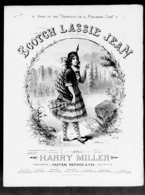 Scotch Lassie Jean, waltz