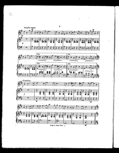 Songs of Alsace waltz