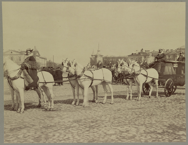 [State carriage of Alexander III, St. Petersburg, Russia]