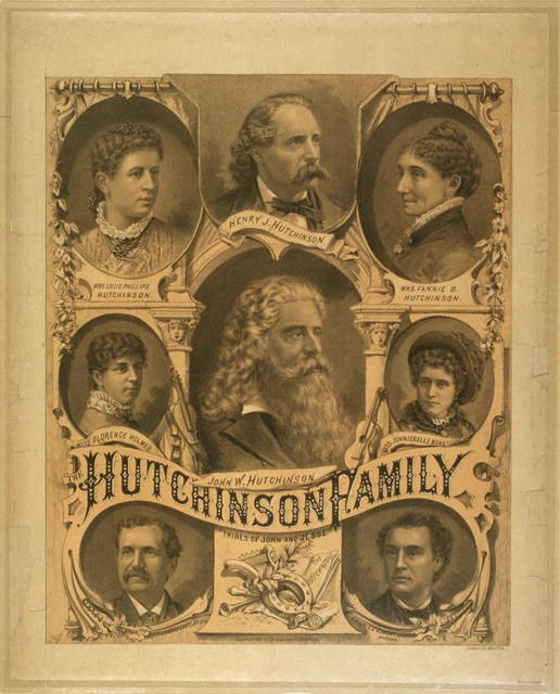 The Hutchinson Family tribes of John and Jesse.