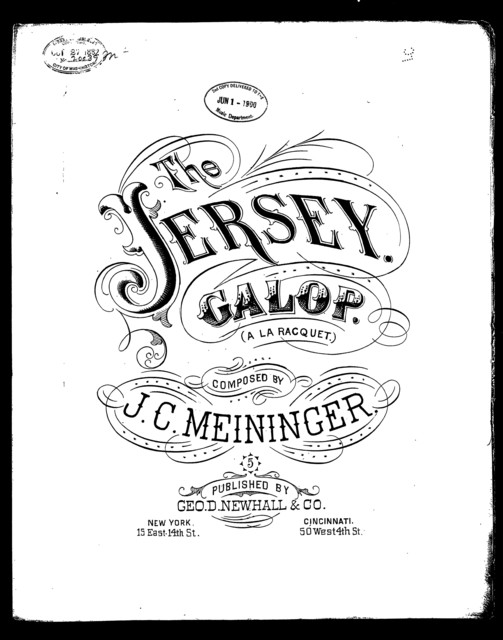 The  Jersey galop