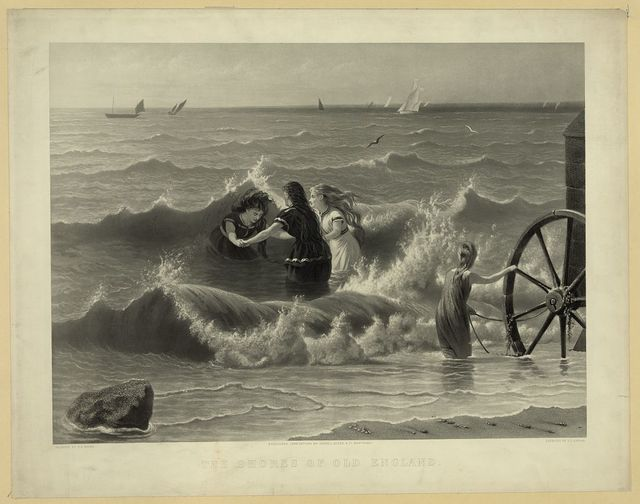 The shores of old England / painted by G.E. Hicks ; engraved by T.L. Sangar.