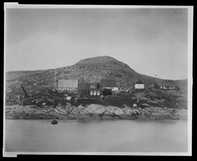 Upernivik [i.e. Upernavik], Greenland, July, 1881 / G.W. Rice photo.