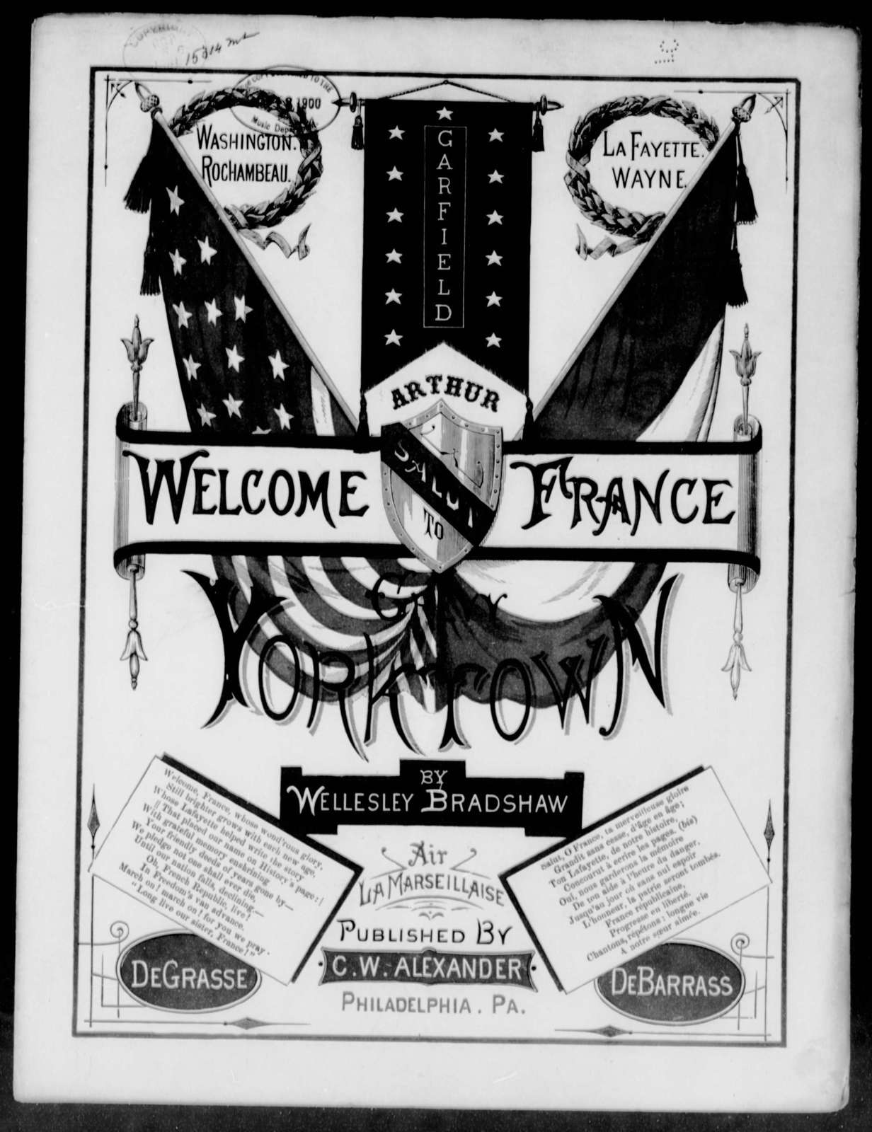 Welcome France to Yorktown! Salut a la France a Yorktown