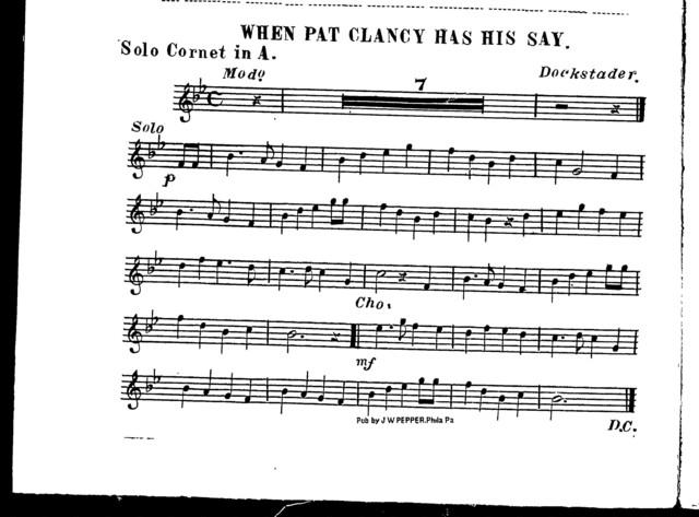 When Pat Clancy has his say