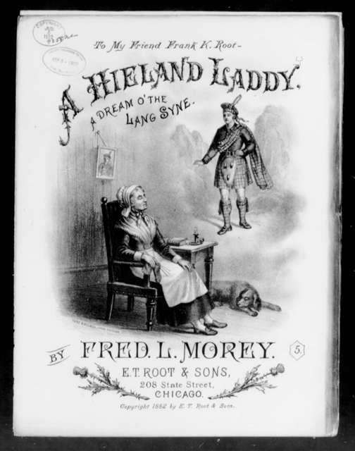 A  Hieland laddie
