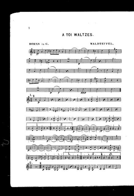 A  toi waltzes
