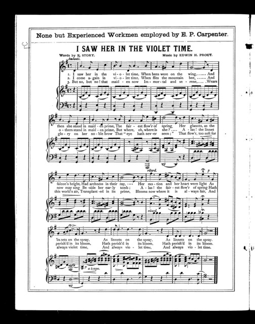 Alfred W. Sweet's popular organ melodies, no. 1