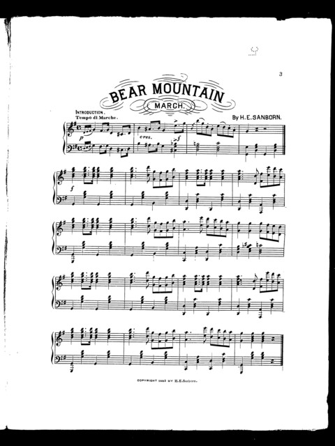 Bear mountain march