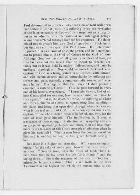 Beecher, Henry Ward - Folder 1 of 3