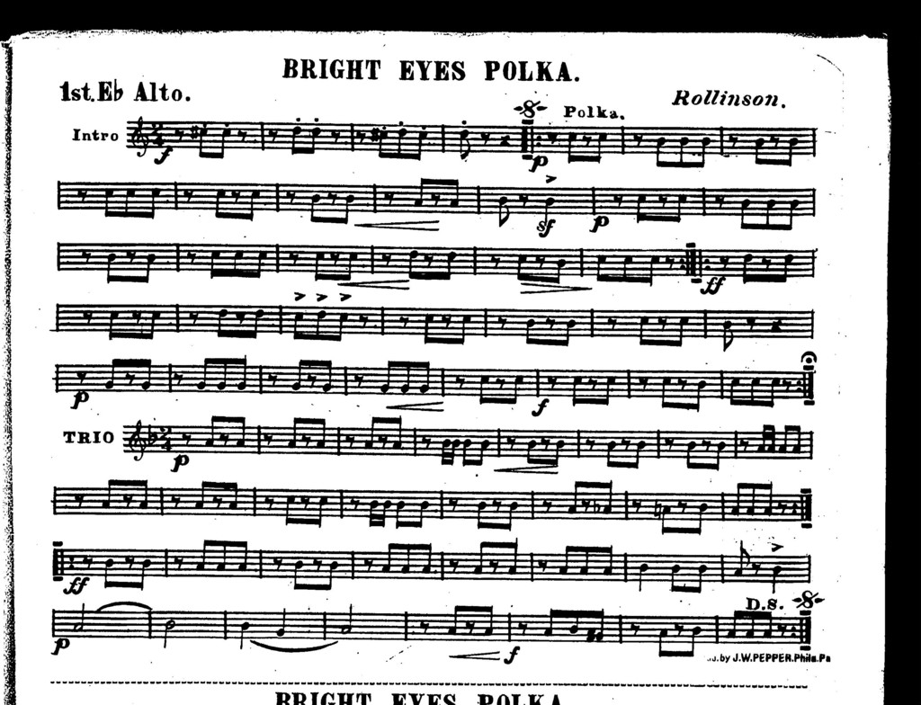 Bright eyes polka