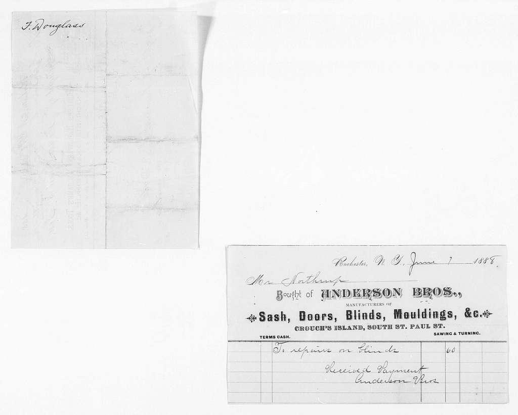 Building Repairs, 1882-1889