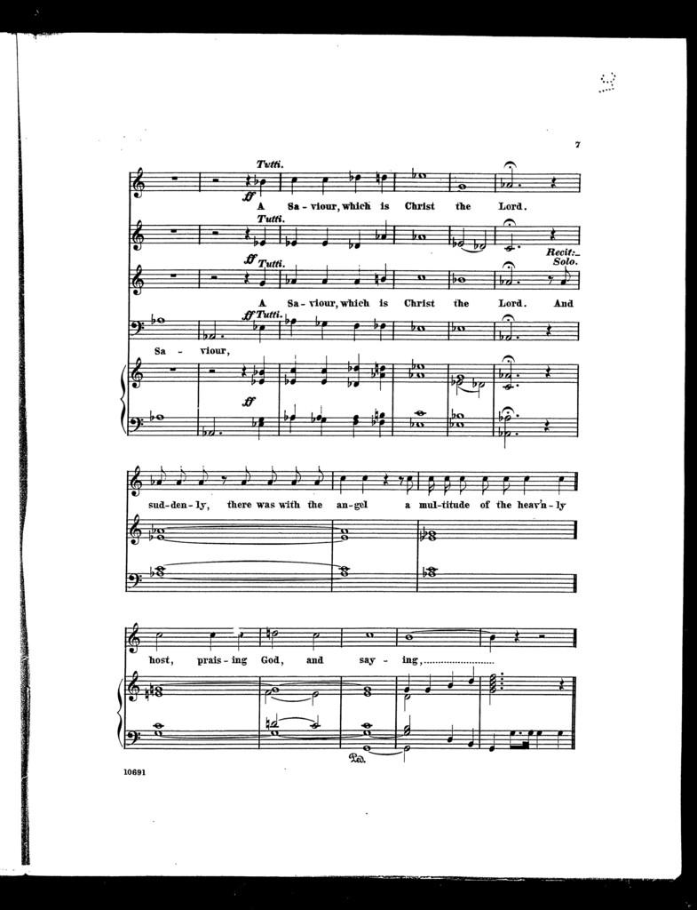 Christmas anthem, no. 2