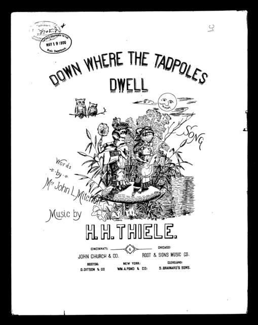 Down where the tadpoles dwell