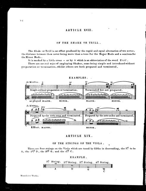 Excelsior method for the viola