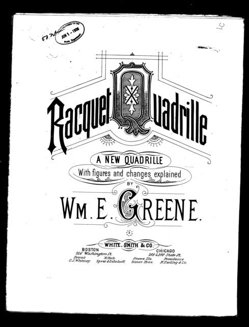 Greens racquet quadrille