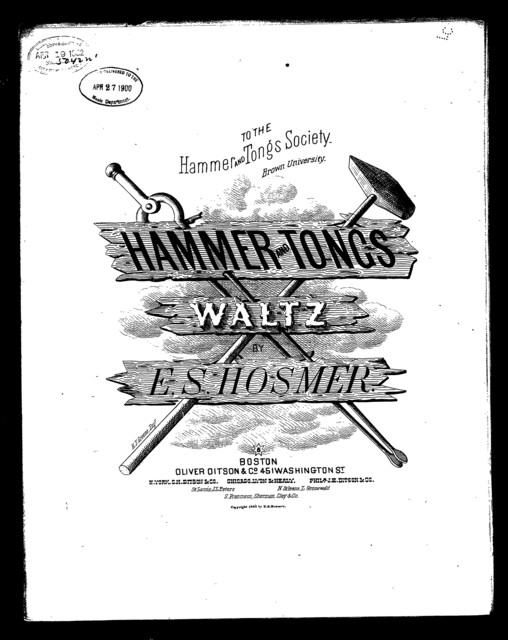 Hammer and tongs waltzes