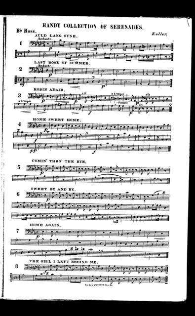Handy collection of serenades