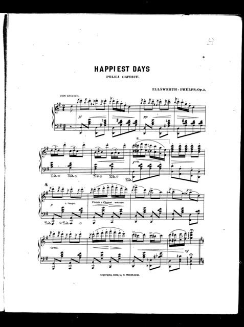 Happiest days polka caprice