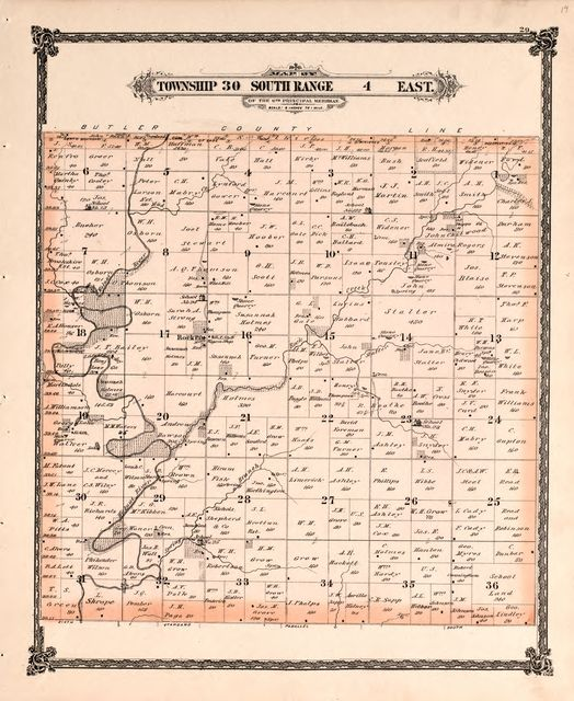 Historical atlas of Cowley County, Kansas /