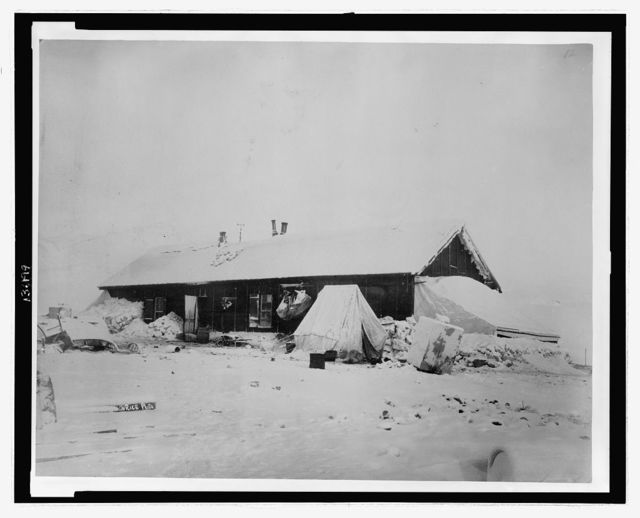 Home at Conger, West, March, 1882