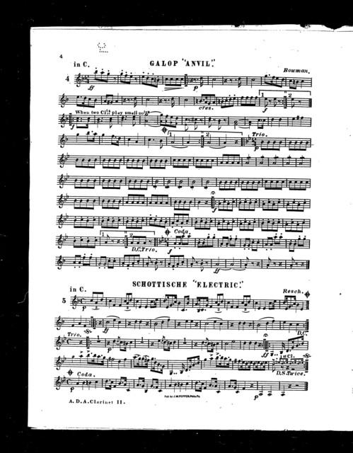 J. W. Pepper's American dance album