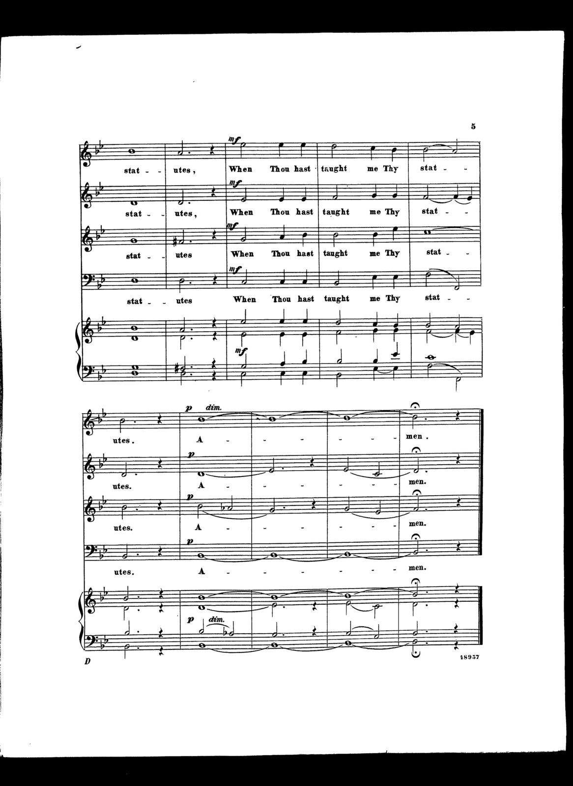 Let my complaint come before thee, O Lord! An Anthem