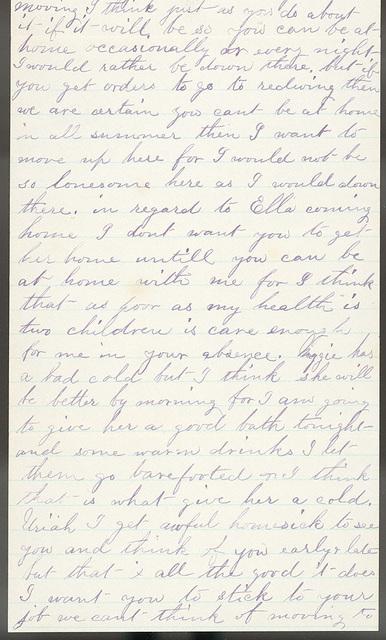 Letter from Laura I. Oblinger to Uriah W. Oblinger, June 2, 1882