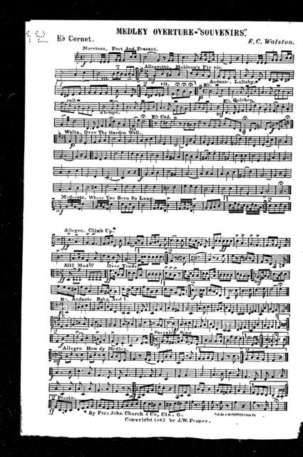 Medley overture; Souvenirs