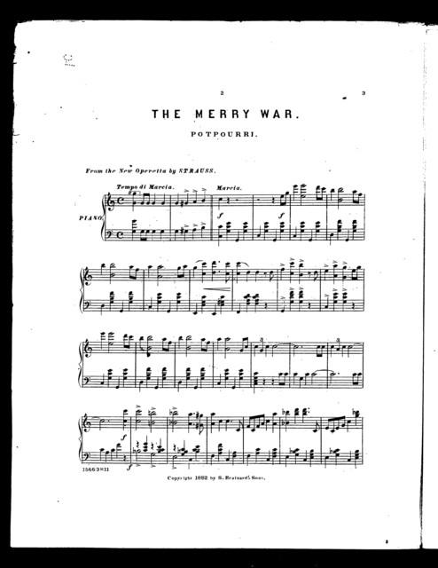 Merry war, The; Potpourri