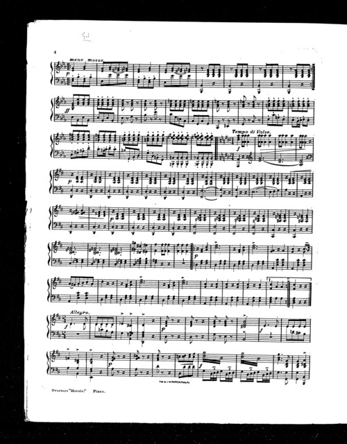 Overture; Heroic [cornet]