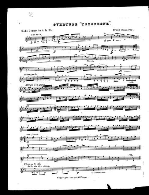 "Overture ""Topophone"""