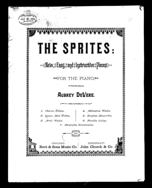 Queen Mab polka [from] The Sprites | PICRYL