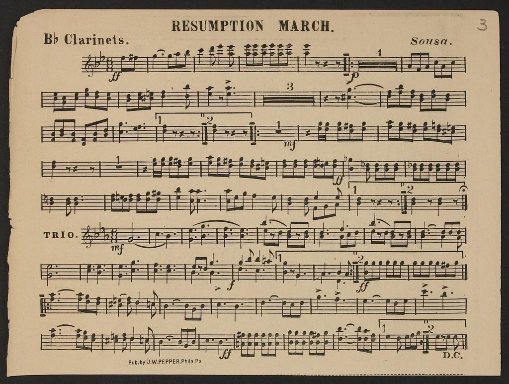 Resumption March