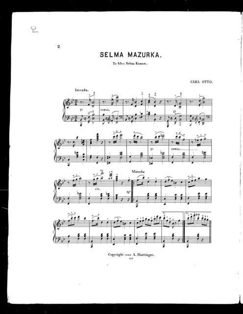 Selma mazurka
