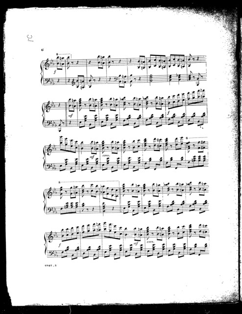 Sensation; Galop de concert