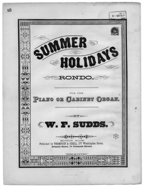 Summer holidays rondo