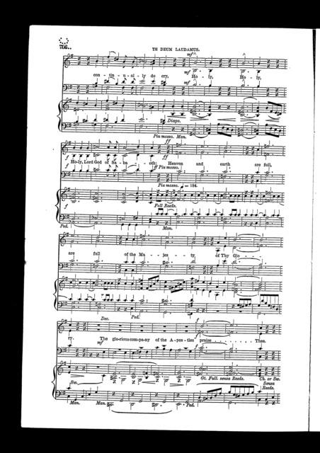 Te Deum laudamus, no. 27