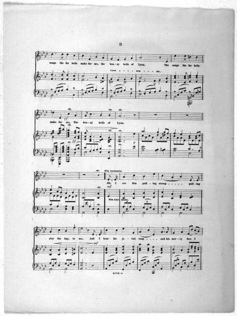 The  bonny bells of Lynn, op. 36