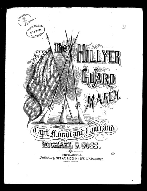 "The  ""Hillyer guard"" march"