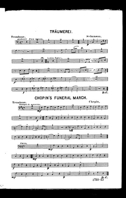 Trũmerei [and] Chopin's funeral march