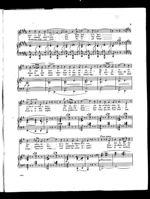 Venice sleeps - Remigata [mezzo soprano]