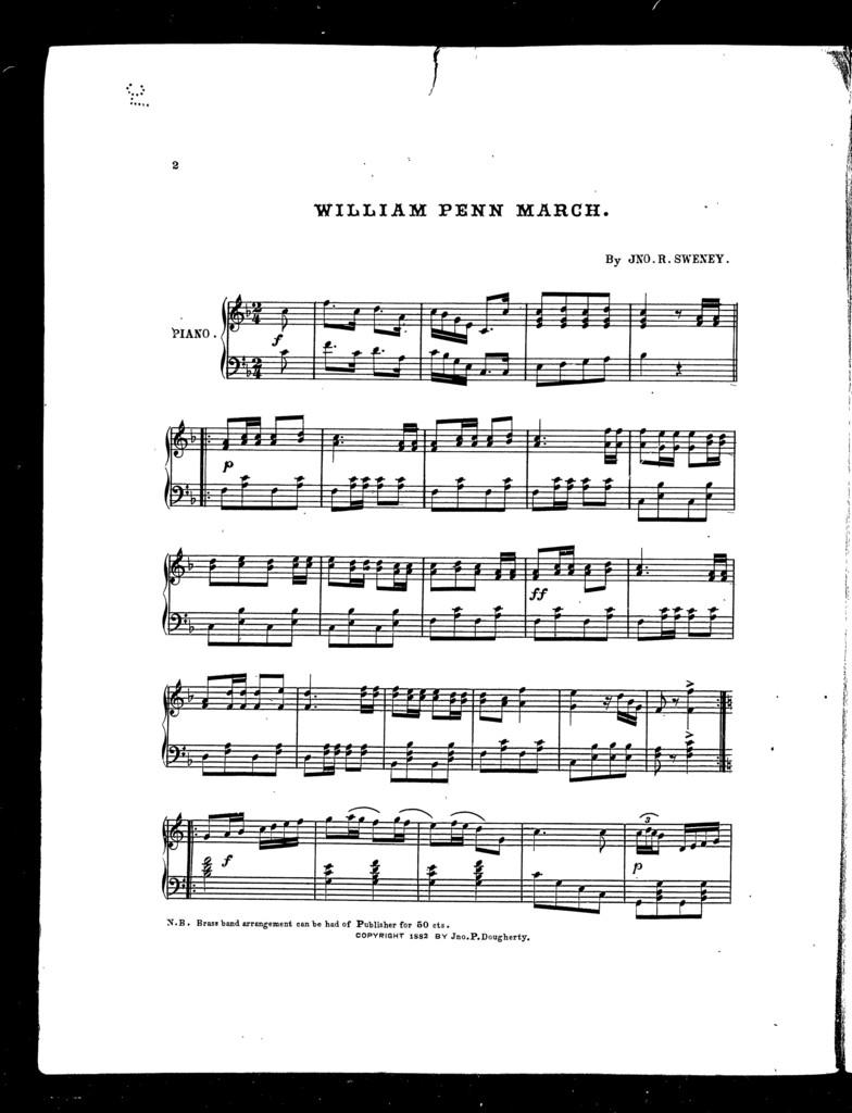 William Penn march